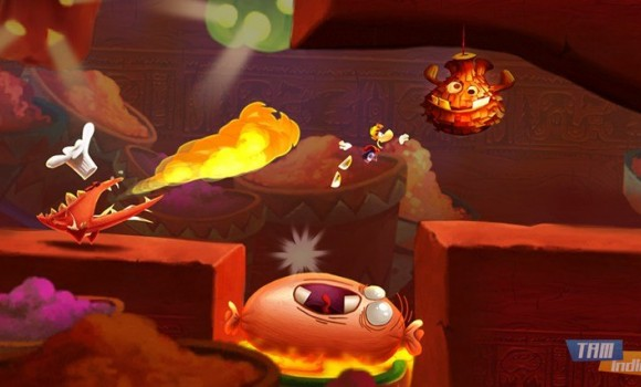 Rayman Fiesta Run Ekran Görüntüleri - 3