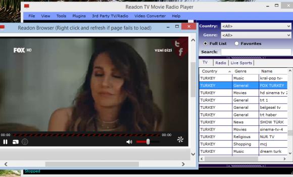 Readon TV Movie Radio Player Ekran Görüntüleri - 1