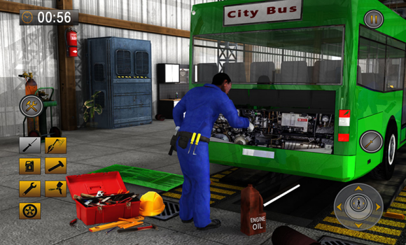 Real Bus Mechanic Workshop 3D Ekran Görüntüleri - 6