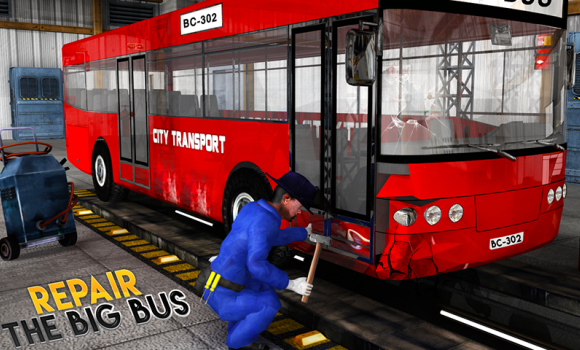 Real Bus Mechanic Workshop 3D Ekran Görüntüleri - 3