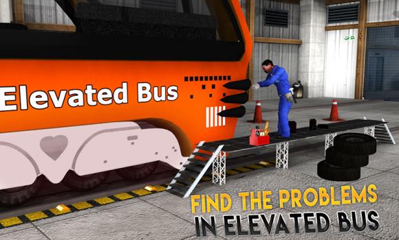 Real Bus Mechanic Workshop 3D Ekran Görüntüleri - 1
