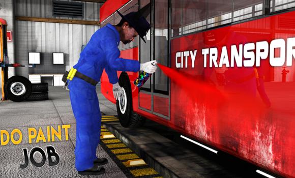 Real Bus Mechanic Workshop 3D Ekran Görüntüleri - 2