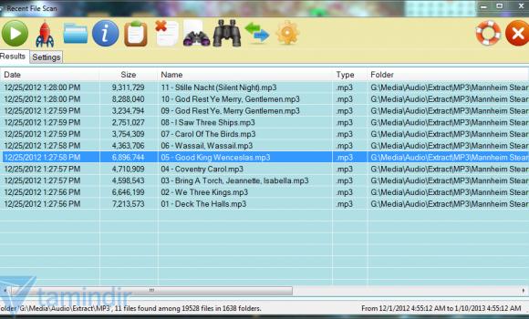 Recent Files Scanner Ekran Görüntüleri - 3