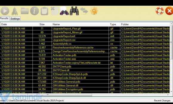 Recent Files Scanner Ekran Görüntüleri - 1