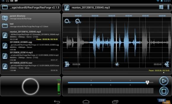 RecForge Lite - Audio Recorder Ekran Görüntüleri - 8