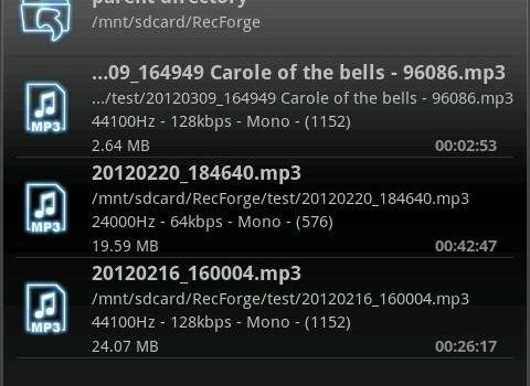 RecForge Lite - Audio Recorder Ekran Görüntüleri - 7