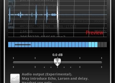 RecForge Lite - Audio Recorder Ekran Görüntüleri - 1