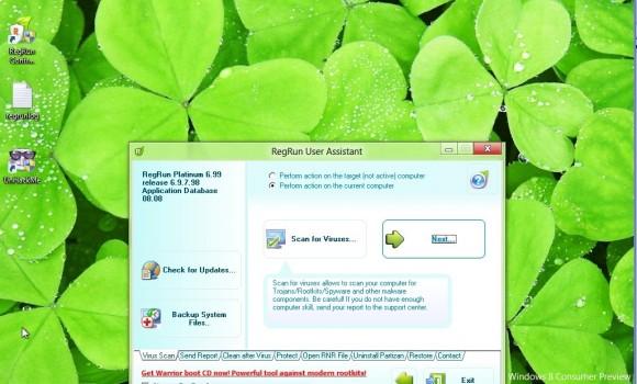 RegRun Security Suite Platinum Ekran Görüntüleri - 1