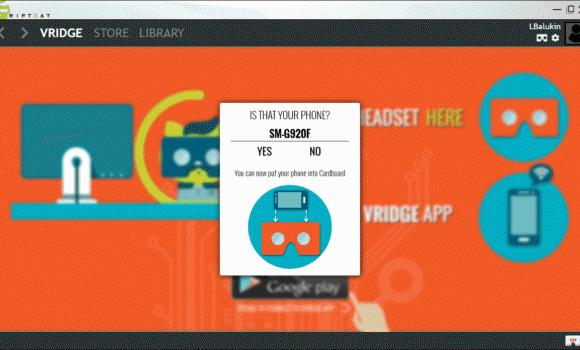 RiftCat Desktop Client Ekran Görüntüleri - 2