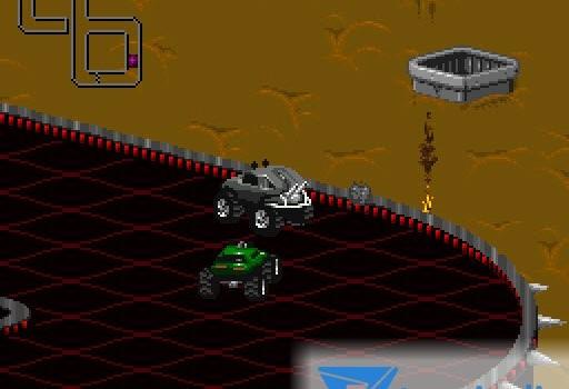 Rock 'N Roll Racing Ekran Görüntüleri - 2
