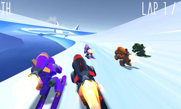 Rocket Ski Racing Ekran Görüntüleri - 4