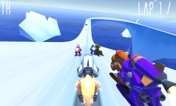 Rocket Ski Racing Ekran Görüntüleri - 3
