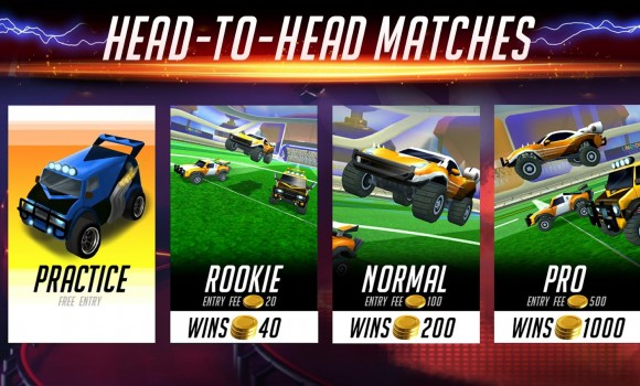 Rocketball: Championship Cup Ekran Görüntüleri - 1