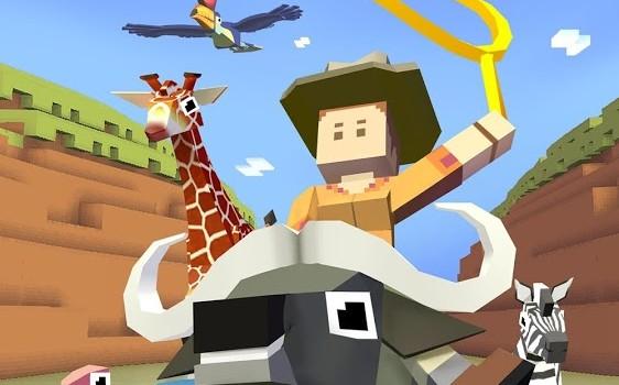 Rodeo Stampede: Sky Zoo Safari Ekran Görüntüleri - 5