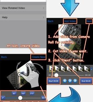 Rotate Video 360 Ekran Görüntüleri - 2