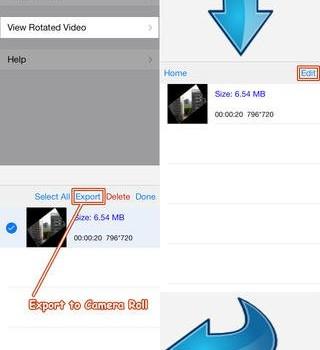 Rotate Video 360 Ekran Görüntüleri - 1