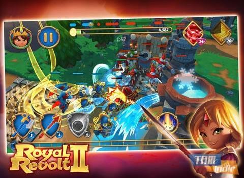 Royal Revolt 2 Ekran Görüntüleri - 1