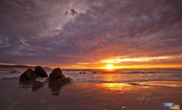 Sahil Gün Batımları Teması Ekran Görüntüleri - 3