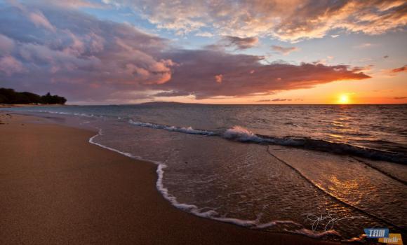 Sahil Gün Batımları Teması Ekran Görüntüleri - 2