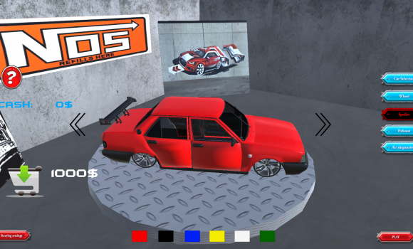 Şahin Drift 3D Modifiyeli Ekran Görüntüleri - 5