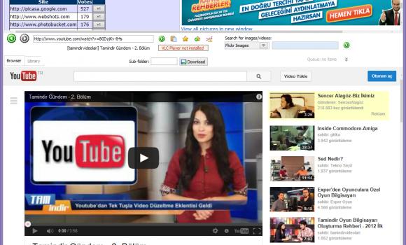 Saleen Software Web Downloader Ekran Görüntüleri - 1