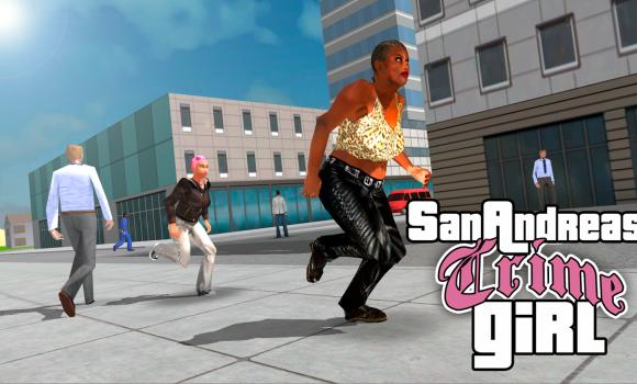 San Andreas Crime Girl Ekran Görüntüleri - 2