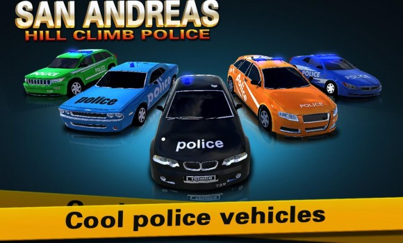San Andreas Hill Climb Police Ekran Görüntüleri - 7