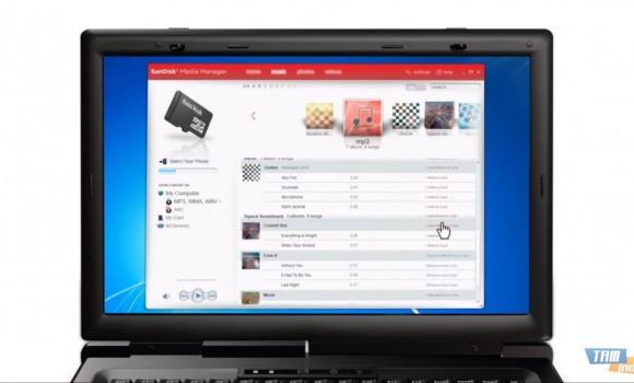 SanDisk Media Manager Ekran Görüntüleri - 3