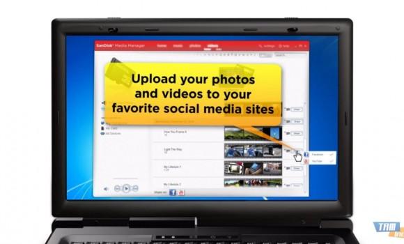 SanDisk Media Manager Ekran Görüntüleri - 1