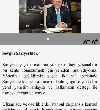 Sarıyer Belediyesi Ekran Görüntüleri - 4