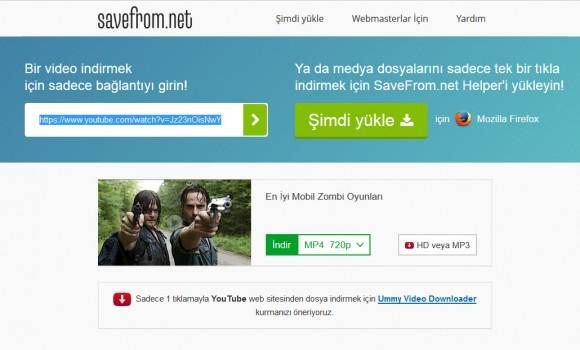 Savefrom.net Ekran Görüntüleri - 2