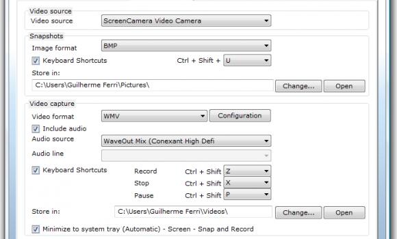 ScreenCamera Ekran Görüntüleri - 2