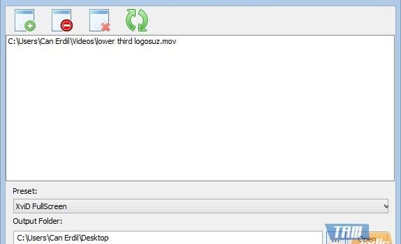 SDR Free MOV to AVI Converter Ekran Görüntüleri - 3
