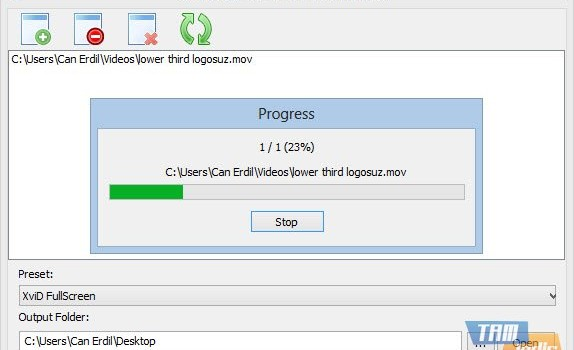 SDR Free MOV to AVI Converter Ekran Görüntüleri - 2