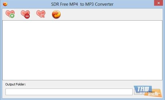 SDR Free MP4 to MP3 Converter Ekran Görüntüleri - 2