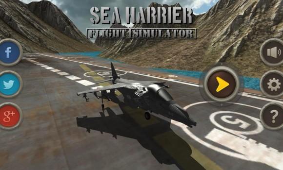 Sea Harrier Flight Simulator Ekran Görüntüleri - 8