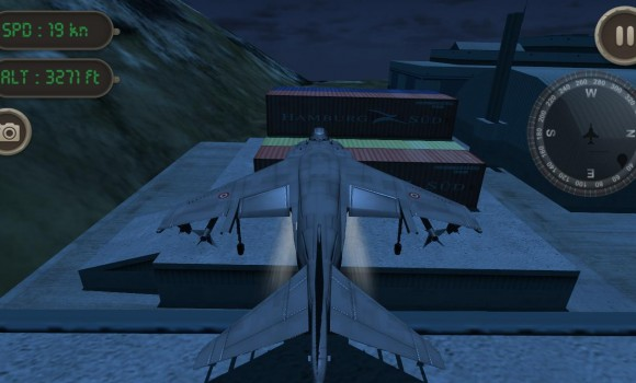 Sea Harrier Flight Simulator Ekran Görüntüleri - 1