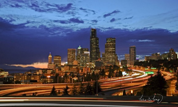 Şehir Işıkları Teması Ekran Görüntüleri - 1