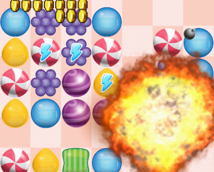 Şeker Patlatma Oyunu Ekran Görüntüleri - 1