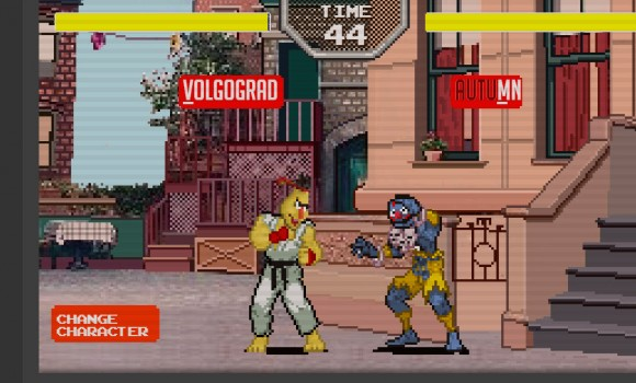 Sesame Street Fighter Ekran Görüntüleri - 4