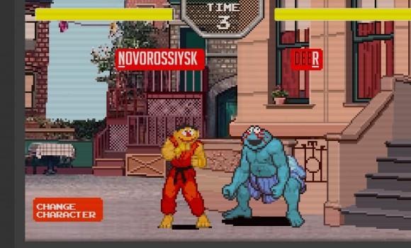Sesame Street Fighter Ekran Görüntüleri - 3