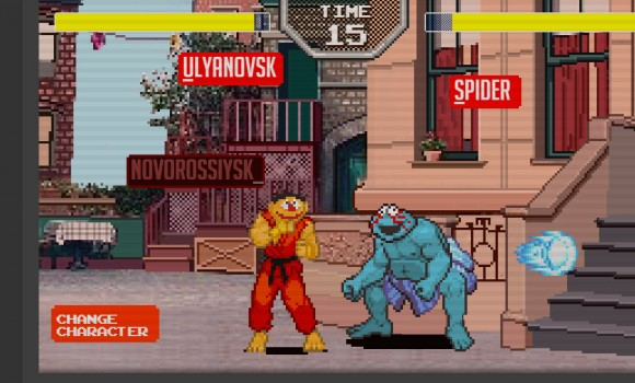 Sesame Street Fighter Ekran Görüntüleri - 2