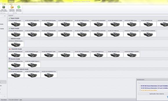 SFIRent Oto Kiralama Yönetim Sistemi Ekran Görüntüleri - 1