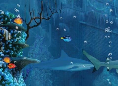 Shark Reef Live Wallpaper Free Ekran Görüntüleri - 3