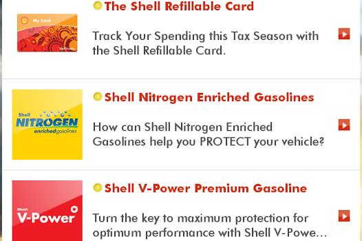 Shell Motorist Ekran Görüntüleri - 1