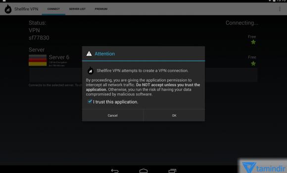 Shellfire VPN Ekran Görüntüleri - 6