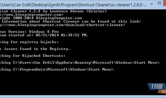 Shortcut Cleaner Ekran Görüntüleri - 1