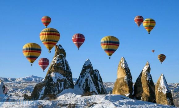 Sıcak Hava Balonları Teması Ekran Görüntüleri - 2