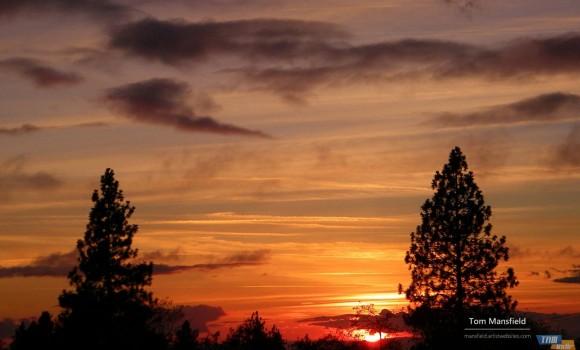 Sierra Nevada Gün Batımları Teması Ekran Görüntüleri - 3