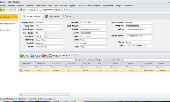 Sigma Mağaza Yönetim Sistemleri Ekran Görüntüleri - 4